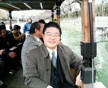 琵琶湖疏水にて