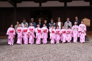 京都キワニスメンバーとともに