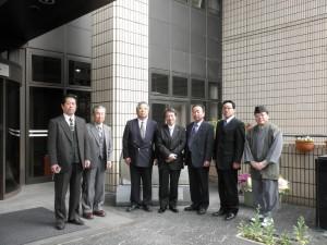 常総市議行政視察団(京都市総合教育センターにて)